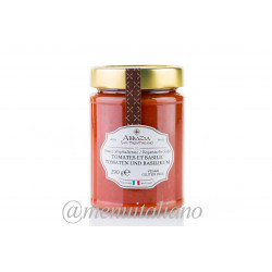 Sauce tomaten und basilikum 290 g