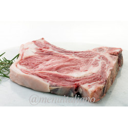 Rinder-rumpsteak mit knochen 500g