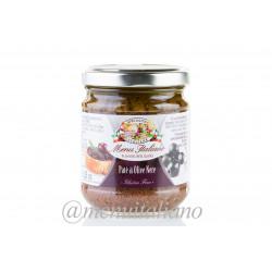 Schwarze oliven pastete 180 g