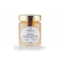 Marmelade aus zitronen und ingwer 170 g