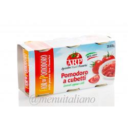 Gewürfelte tomaten 1.2 kg (400 g x 3)