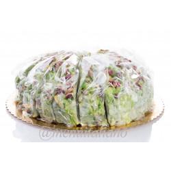 Weichertorronetorte. mit pistazien. glasiert 4 kg