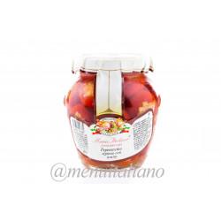 Peperoncino tondo piccante ripieno 290g