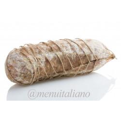 Sopressa salami aus venetien mit knoblauch gewürzt 2 kg