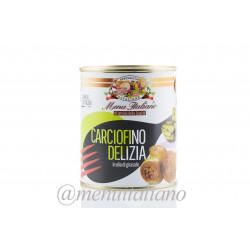 Ganze. aromatisierte artischocken. in sonnenblumenöl 780 g