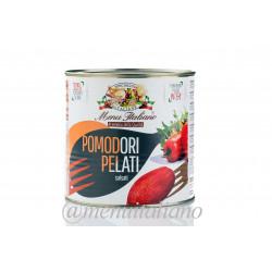 Tomaten aus apulien. geschält. im tomatensaft 7 brix 2.5 kg